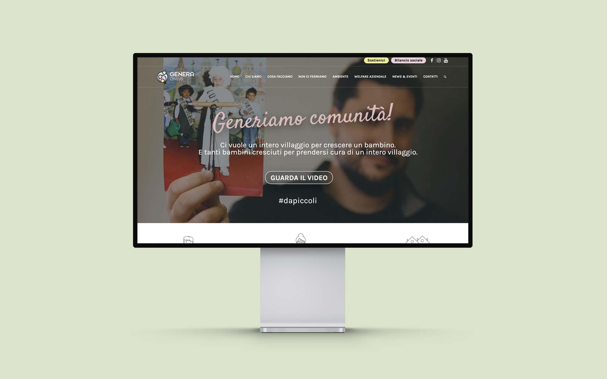 Genera-onlus-website