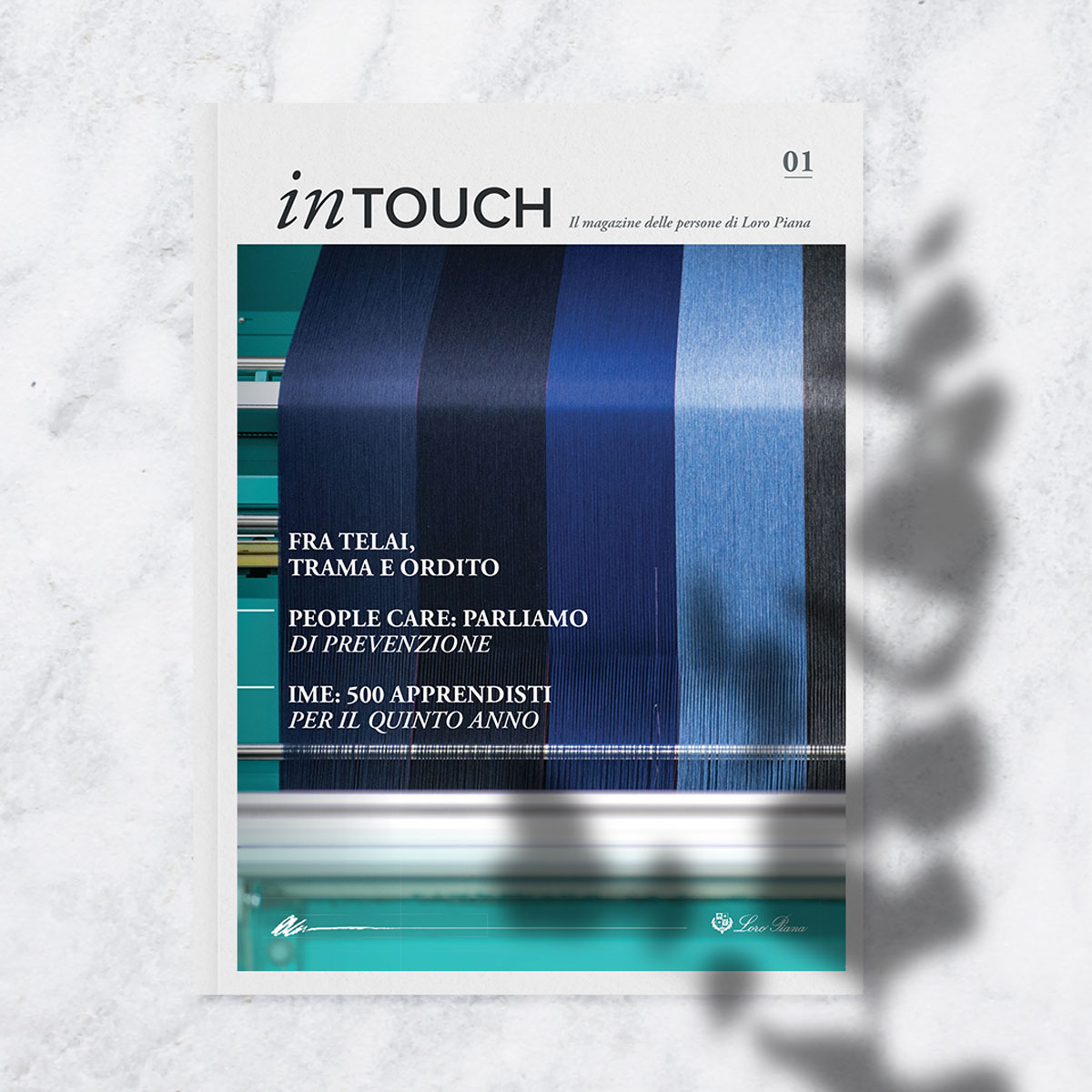 LoroPiana-magazine-Intouch-cover